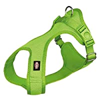Comfortable to wear due to soft padding Made of breathable mesh and nylon material Fully adjustable belly strap Extra thick soft harness Perfect comfortable fit and prevent your pet