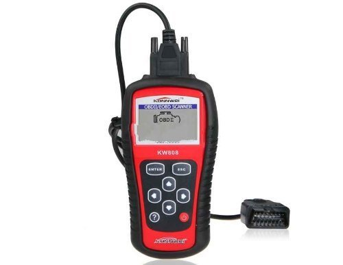 KONNWEI KW808 OBDII/EOBD Auto Code Reader Work for US, Asian & European Cars KONNWEI KW808 Code Scanner