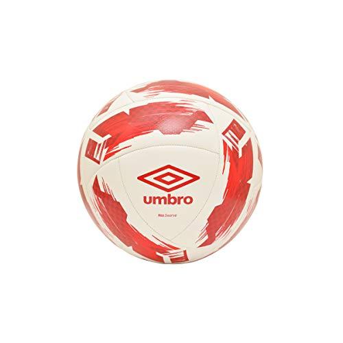 UMBRO Neo Swerve F791 - Palla da allenamento, colore: Bianco/Rosso