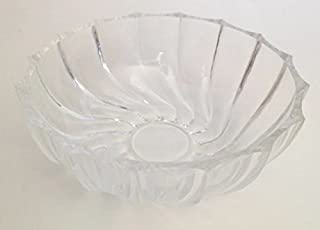Vintage Fostoria Clear Glass Nappy Fruit Bowl (Pattern Discontinued)