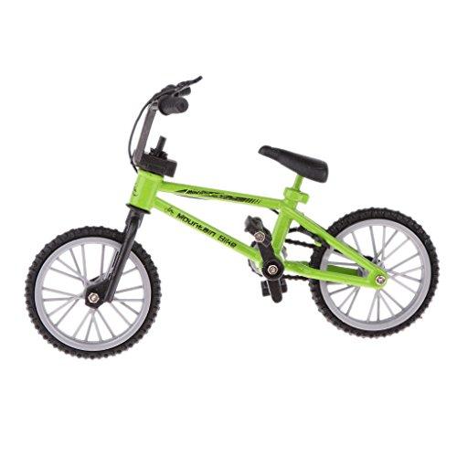 lahomia Bicicletta Giocattolo in Lega per Bici da Dito per Collezioni Gioco di Sport con Dita per Bambini