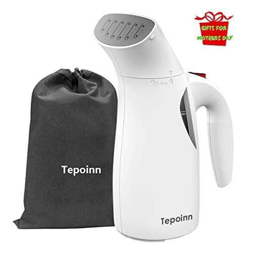 Tepoinn 400W Portable Handheld Fabric Travel Garment Steamer with Travel Pouch