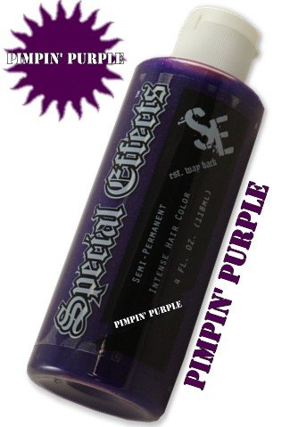 Special Effects Hair Dye -Pimpin' Purple #14
