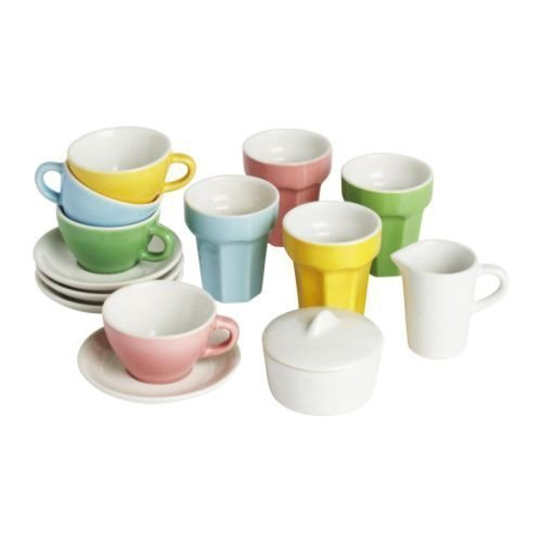 Ikea DUKTIG Kaffee-/Teeservice für Kinder 10tlg.