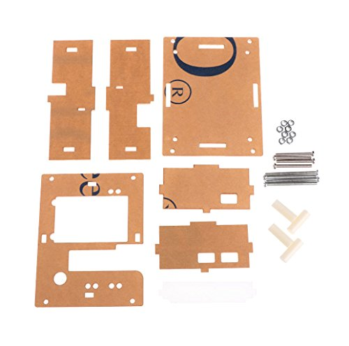 YUNAWU Acrylic Case Shell fr GM328 Transistor Tester TFT Diode LCR ESR Meter PWM Square