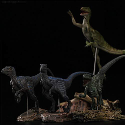 sknonr 1:35 Velociraptor Team Raptor Dinosaurier Abbildung begrenzt mit Retail Box (Color : B)