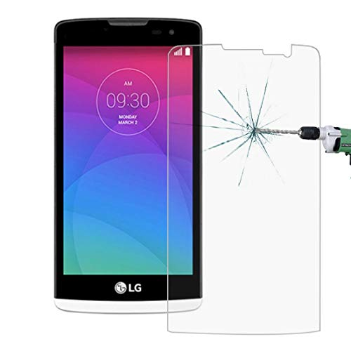 Jiangym Mobile Phone Tempered Glass Film for LG Leon / C40 0.26mm 9H+ Surface Hardness 2.5D Explosion-Proof Tempered Glass Film Tempered Glass Film