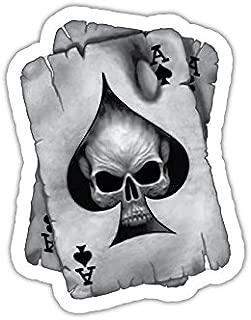 Vinyl Stickers 2 x Ace of Skull