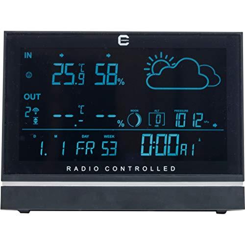 Cresta DTX390 weerstation met weersvoorspelling, buiten-binnentemperatuur inclusief buitensensor