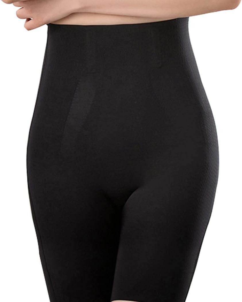Lnrueg Lightweight Classic Flexible Boxer Brief Slip Shorts Stretch Soft 4 Pairs Breathable Nylon Flexible High Waist Shapewear Boy Shorts