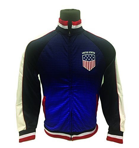Icon Sport USA Jacket, For Kids and Adults, a Track Soccer Jacket, All Youth and Adult Sizes (Youth Large 10-12 Years)
