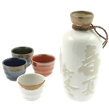 Four Seasons Sake Set