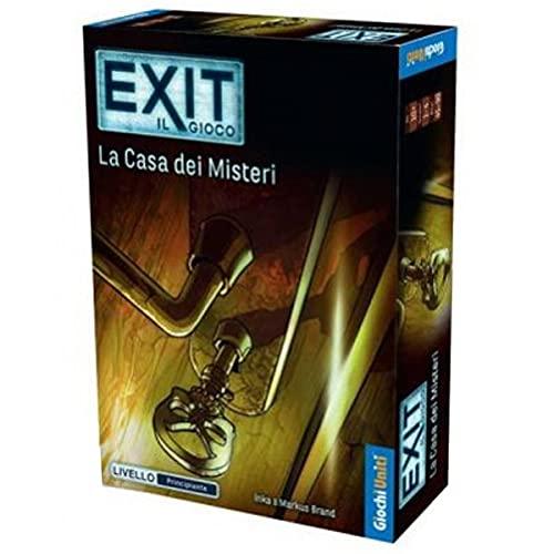 Giochi Uniti - Exit: La Casa dei Misteri, Edizione Italiana Gioco di Avventura, GU692