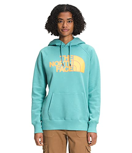 The North Face Women's Half Dome Pullover Hoodie, Bristol Blue, XL
