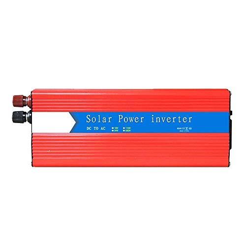 J-Love Inversor, 3000W (Pico de 6000W) 12V 220V Fuente de alimentación portátil del camión del Coche para el Cuaderno, iPad,
