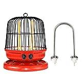 ZHICHUAN Calentadores Eléctricos Mini Calentador Oficina Silencioso Speed Hot Heaters900W Calefacción