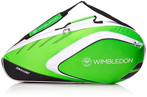 Babolat Racchetta da Custodia Racket Holder Wimbledon X3Team, Verde, 70x 50x 10cm, 0,4Litri, 751130–125