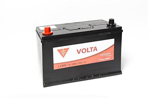 Bateria de coche 100 Ah caja asiática +Izq.