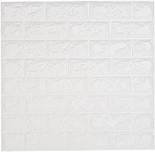 comprar comparacion NHsunray 3D Ladrillo Pegatinas de Pared Autoadhesivo Panel Pared Impermeable, 3D DIY Wall Stickers Moderno Decoración para...