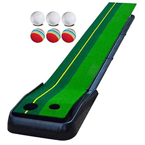 Tappetino da Golf Verde Stuoia per Pratica di Golf Mini Attrezzatura per Addestramento di Pratica di Golf Attrezzatura da Gioco E Regali da Golf per Uso Esterno in Ufficio
