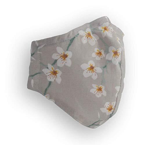 Dalisso tela reutilizable de algodón transpirable con filtro Modelo Toledo tamaño adulto
