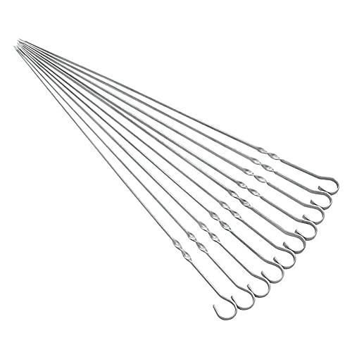 Lanyin Metall-Spieße, 38 cm, für...
