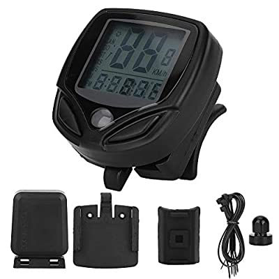 Lightweight Bike Computer, Automatic Cycling Speedometer, for Road Bicycles Mountain Bicycles