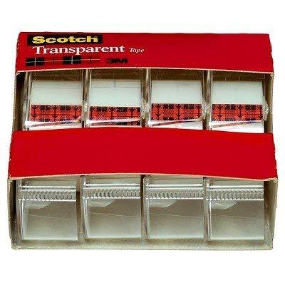 "Scotch 4pk Transparent Tape 3/4"" x 275"""