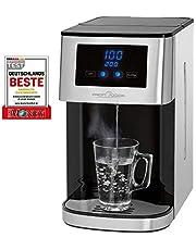 Profi Cook PC-HWS 1145 warmwaterdispenser, roestvrijstalen behuizing, warm water met één druk op de knop in ca. 3 seconden, led-display met touch-bediening, 2600 watt