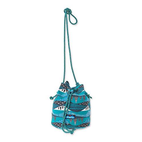 KAVU Bucket Bag Canvas Sling Purse Bag - Winterscape