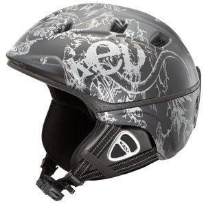 KED Skihelm Snowboardhelm Tavo L 56-62 cm Black Grey