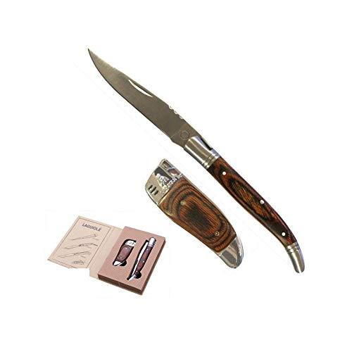 LAGUIOLE - Geschenkset Messer und Feuerzeug
