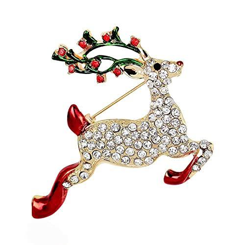 Alfileres Decorativos Broche Mujer Plata Decorativa Decoraciones Vestido Fiesta Navidad Broche Navidad Broche Broche Reno JoyeríA Navidad Regalo Decoraciones Navidad, Vestido Navidad Broche.