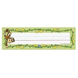 monkey nameplates