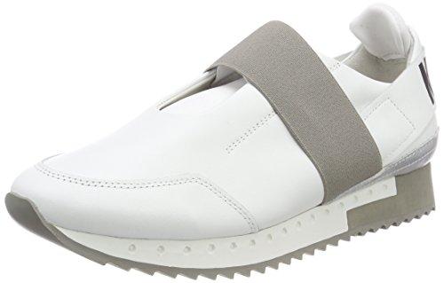 Kennel und Schmenger Schuhmanufaktur Racer, Zapatillas para Mujer, Silber (Light Silver Sohle Grau-Weiß), 39 EU