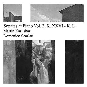 Scarlatti: Sonatas at Piano Vol. 2: K. 26 - K. 50