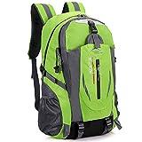 Mochila Viajes IBHT nuevos hombres mochila de nylon de gran capacidad camping mochila casual de 15 pulgadas portátil Mochila Mujeres al aire libre Senderismo bolsa 1 ( Color : Army Green , Size : L )