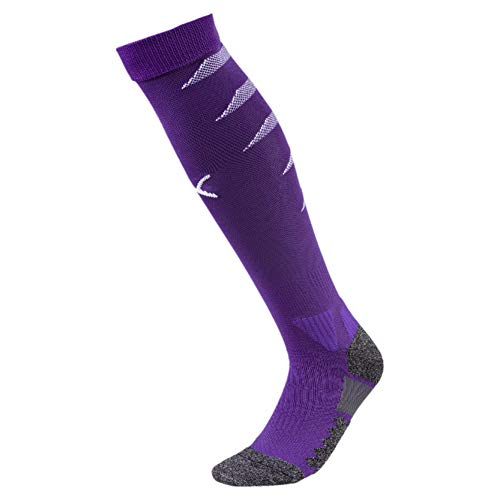 PUMA Herren Stutzen Team FINAL Socks, Prism Violet-Puma White, 5, 703452
