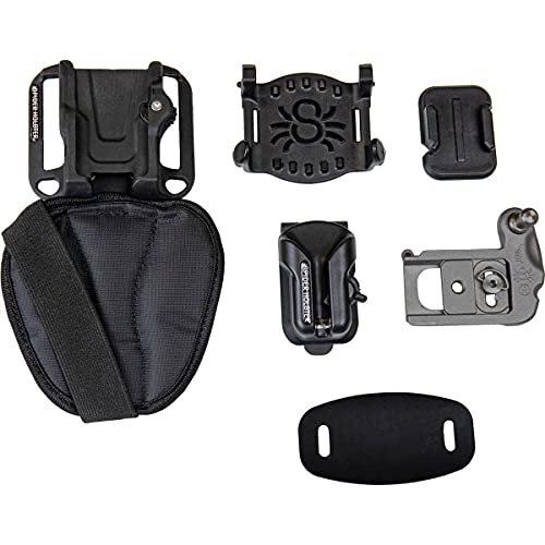 Spider Holster - Spider X Backpacker Kit - Self Locking, Quick Draw Access to Your Camera on The go from Any Belt or Backpack Strap!