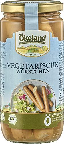 ÖKOLAND Bio Vegetarische Würstchen (6 x 380 gr)