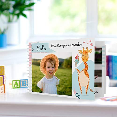 Cuento Infantil Educativo Personalizado con Las Fotos del niño o niña | Álbum didáctico Fabricado en Material plástico Indestructible | Especial guarderías