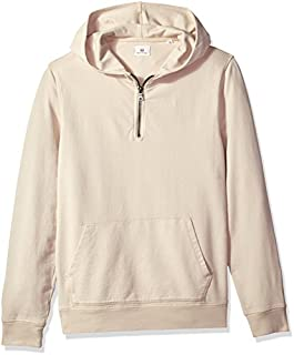 AG Adriano Goldschmied Men's Lyle Quarter Zip Pullover Hoodie
