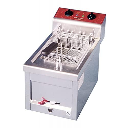 Freidora eléctrica de Encimera Trifásé con vaciado – 9 litros