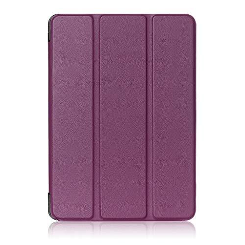 Lenovo Tab 4 - Funda para Tablet Lenovo Tab 4 8' TB-8504F/N (Piel sintética, función Atril), Color Morado