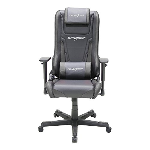 Suwikeke Newedge Edition Racing Bucket Seat Office Gaming Ergonomic Computer Esports Executive Chair Furniture Rocker with Pillows (Black), Medium, Black001