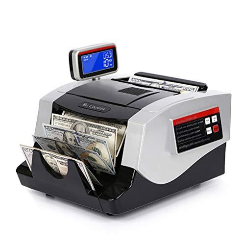 Bankbiljettenteller, rekenmachine - geldteller en rekeningdetector- tellingen en detecteert multinationale valuta, valuta teller