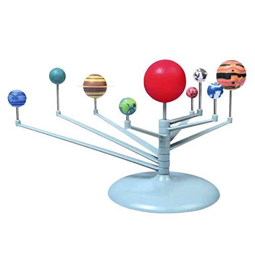 Aibecy Sonnensystem Modell Spielzeug, Sonnensystem Planetarium DIY Wissenschaft Astronomie Planet Modell Glow In The Dark STEM Lernspielzeug für Kinder & Jugendliche