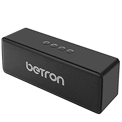 Betron D51 Wireless Speakers Compatible with Bluetooth Smartphones Mp3 Players Computers Laptops by Betron