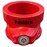 Trimax TFW80HD 5th Wheel King Pin Lock , Red