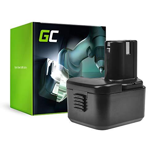 GC® (3Ah 12V Ni-MH) BCC1215 EB1214S EB1212S EB1214L EB1220BL EB1220HS EB1220RS EB1220HL EB1222HL EB1226HL EB1230H EB1230HL EB1230R EB1230X EB1233X Batería para Hitachi DS12DVF3